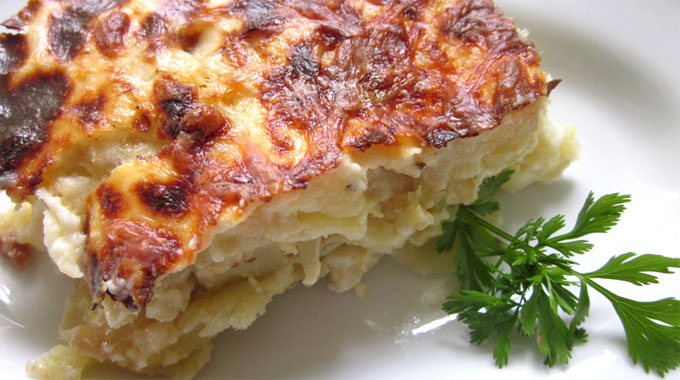 Bacalhau com natas for Authentic portuguese cuisine