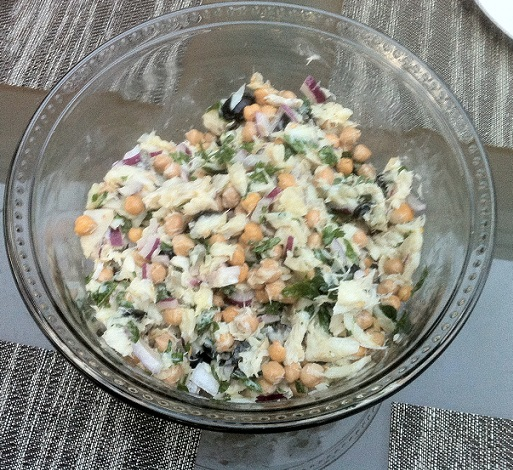 Salads archives bacalhau chickpea salad salada de bacalhau com gro forumfinder Gallery