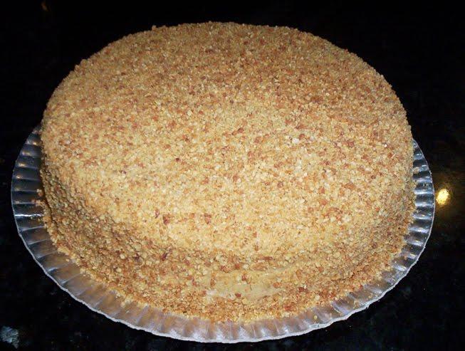 Simple Peanut Butter Sponge Cake